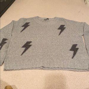 Rails thunderbolts sweater - grey